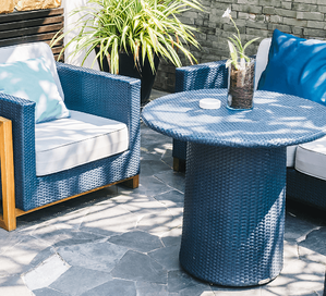 8 Tips For Choosing the Right Patio Furniture Blue Patio Furniture Image