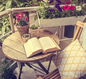8 Tips For Choosing the Right Patio Furniture Book on Table Image