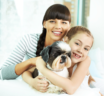 Pets in Condos: Know the Rules Before You Buy Mom and Daughter Image